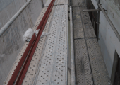 Coordinación de seguridad en fase de obra de eparación de cubierta en Stern Hidraulica Area 1-3. Parcela 1. Zizurkil