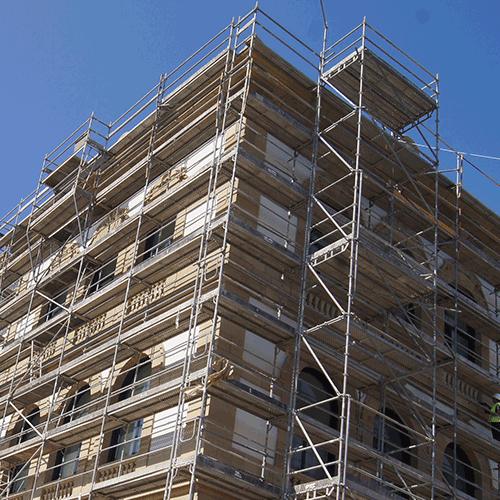 Coordinación de seguridad en fase de ejecución de renovación arquitectónica de la antigua fábrica de tabacos de san Sebastian para su
