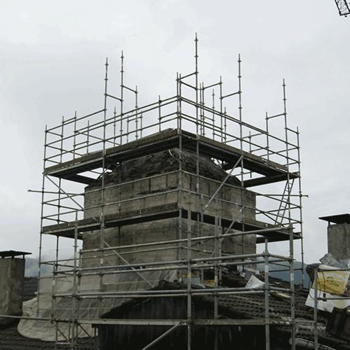 Coordinación de seguridad en fase de ejecución de rehabilitación de edificios Barrio Makatzena. Arrasate