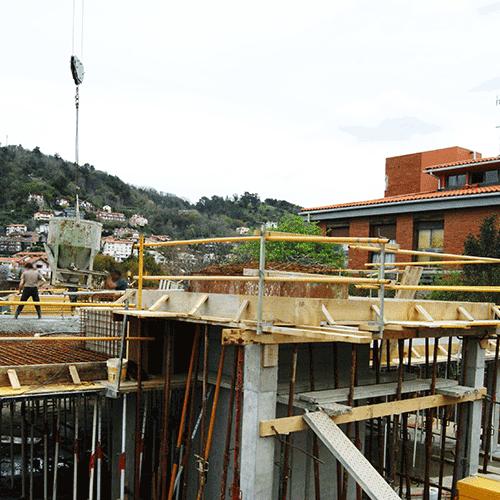 Coordinación de seguridad en fase de obra de 8 viviendas parcelas 1 y 2. Paseo Zubiaurre. Donostia