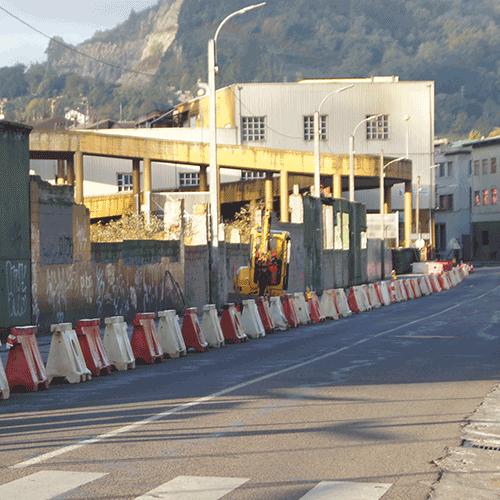 Coordinación de seguridad en fase de ejecución de la ampliación del carril bici en la localidad. Hernani.