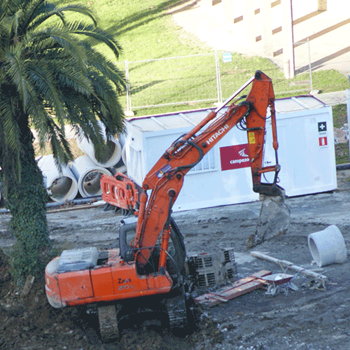 Coordinación de seguridad en fase de ejecución de urbanización de la unidad de ejecución U.E.20.1 Papelera de Amarotz. Tolosa