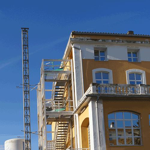 Coordinación de seguridad en fase de ejecución de reforma centro residencial Aldakonea. Donostia
