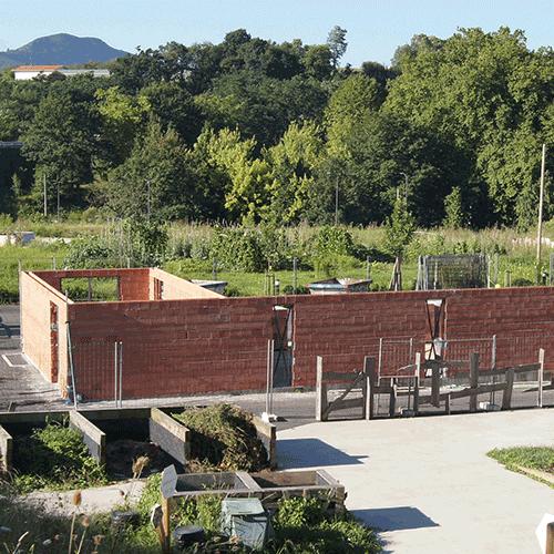 Coordinación de seguridad en fase de obra de los edificios del jardín, infraestructura para telecomunicaciones y la carretera. Zabalegi finka. Donostia