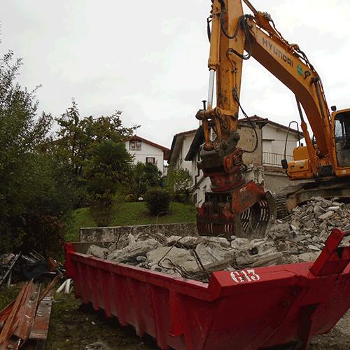 Coordinación de seguridad en fase de ejecución de derribo y construcción de dos viviendas. Intxaustienea. Ganboxa bidea, 5. Oiartzun