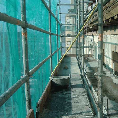 Coordinación de seguridad en fase de obra rehabilitación y saneo de fachada alameda del Boulevard 14. Donostia