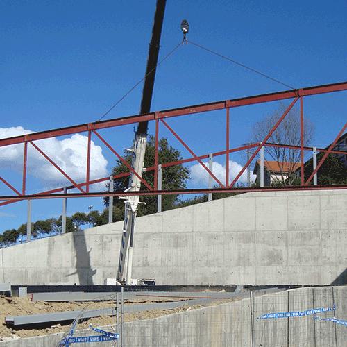 Coordinación de seguridad en fase de obra de remodelación del parque Molinao y Fronton cubierto. Pasaia