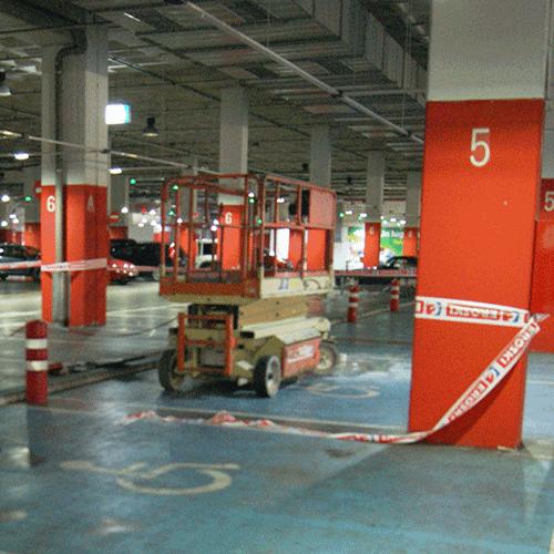 Coordinación de seguridad en fase de ejecución de reformas interiores en Hipermercado Boulevard Zaramaga 1. Vitoria-Gasteiz