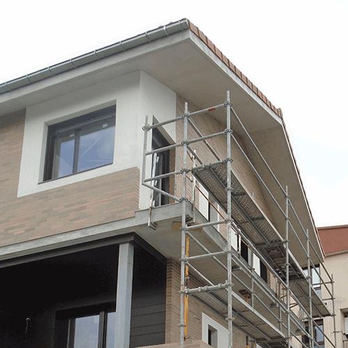 Coordinación de seguridad en fase de ejecución de construcción de dos viviendas. Intxaustienea. Ganboxa bidea, 5. Oiartzun