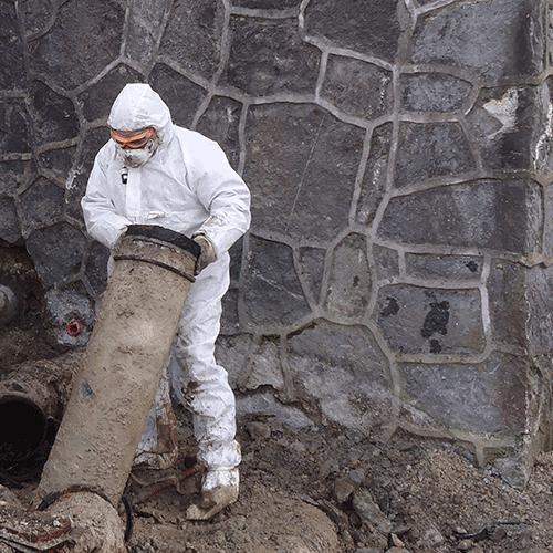 Coordinación de seguridad en fase de obra de renovación del cuarto de llaves y del la cubierta del deposito de agua de San Esteban. Usurbil