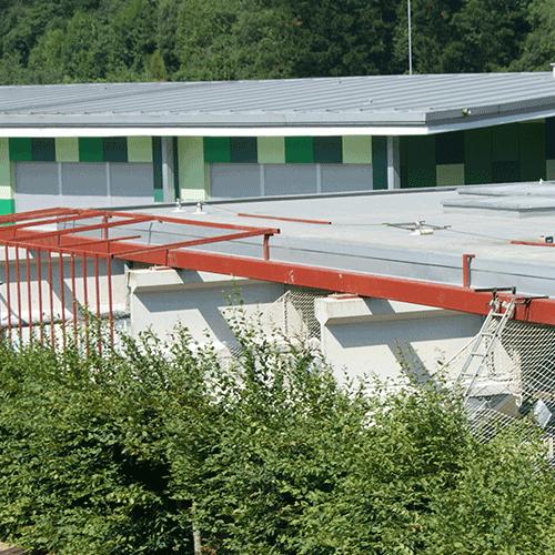 Coordinación de seguridad en fase de obra de ampliación cubierta patio ikastola. Mendaro