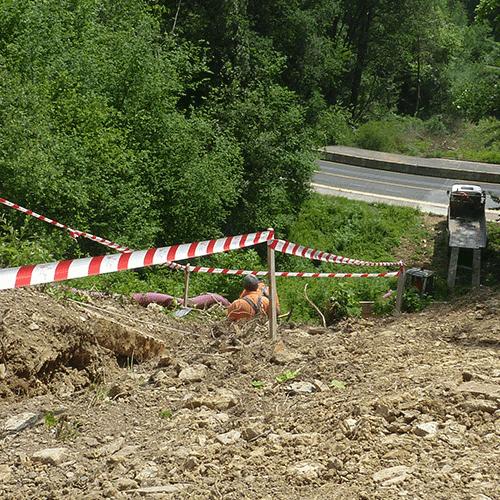 Coordinación de seguridad en fase de ejecución de la modificación de la linea de 30 Kv en doble circuito. Paseo Miramon 173. Donostia