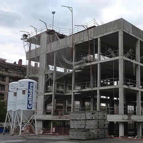Coordinación de seguridad en fase de obra del centro polivalente de formación e innovación del Campus de Gipuzkoa Bº Ondarreta Donostia