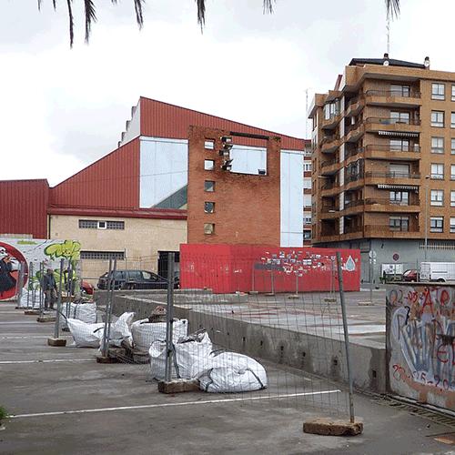 Coordinación de seguridad en fase de ejecución de reforma del área infantil y mejora de accesos Plaza-Parque Otxartaga. Ortuella