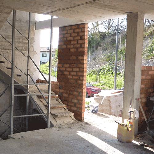 Coordinación de seguridad en fase de obra de viviendas unifamiliares adosadas en parcela a.410.3 AIU.IB.13. Illarra. Donostia