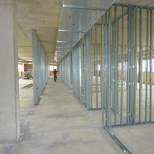 Coordinación de seguridad en fase de ejecución de nuevo edificio y urbanización de parcela Polígono 3. Etxarri-Aranatz