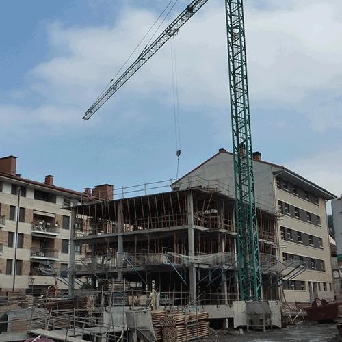 Coordinación de seguridad en fase de ejecución de 10 viviendas en portal 1 y 9 viviendas en portal 2. Markina