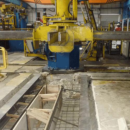 Coordinación de seguridad en fase de ejecución del foso para líneas de caminos de rodillos en ArcelorMittal Polígono Industrial Agurain. Salvatierra