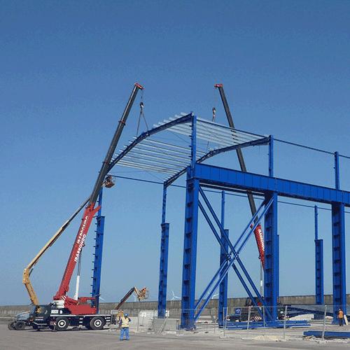 Coordinación de seguridad en fase de ejecución de la instalación industrial para la fabricación de piezas especiales de gran volumen y peso en