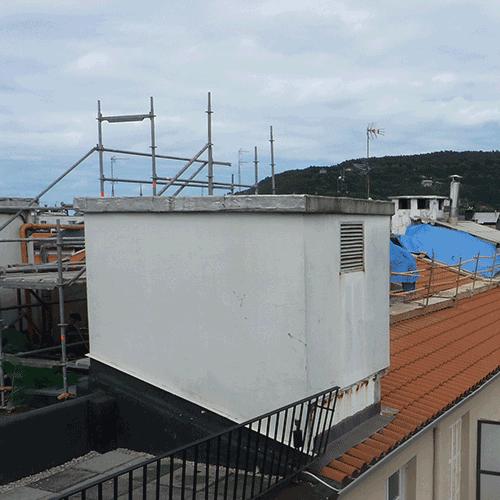Coordinación de seguridad en fase de obra de rehabilitación de locales en planta 1ª, baja y sótano Edificio Getaria. Donostia