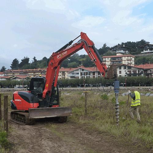 Coordinación de seguridad en fase de ejecución de actuaciones en la playa de Santiago. Zumaia