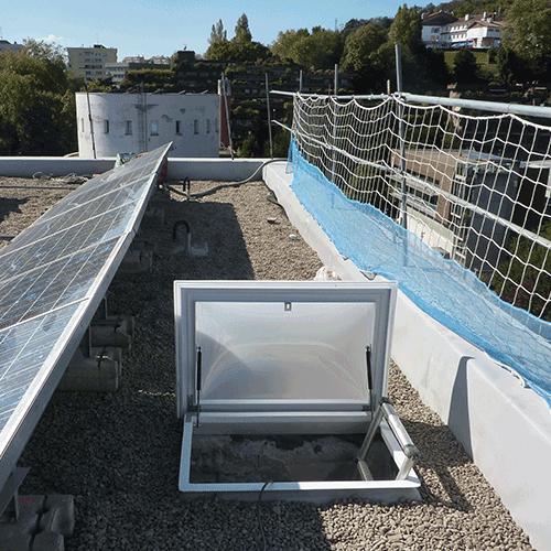 Coordinación de seguridad en fase de ejecución de reparación de cubierta de Facultad de Arquitectura Campus de Gipuzkoa. Donostia